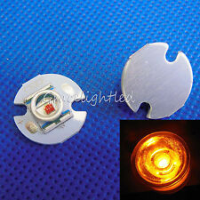 Cree XRE Q5 1-3W Yellow 580-585nm Light LED Emitter Chip with 16mm Round Base
