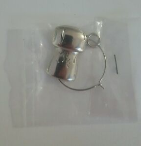 Brand New Wine Champagne Cocktail Glass Charm Jewellery Decoration 2 Available