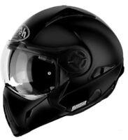 Airoh casco helmet casque modulare J106 nero opaco black matt moto Naked