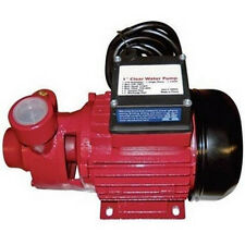 "WATER PUMP - 720 GPH - 110 Volt Electric - 1/2 Hp Motor - 1"" Ports - Cast Iron"