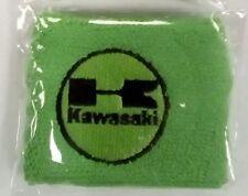 Xmas gift stocking filler Green Kawasaki motocross rider hobby wrist sweatband