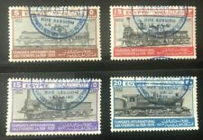 More details for egypt  sg;189/92  1933 railway set of 4 fine used / cto