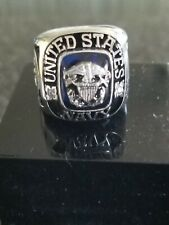 United States Navy Ring, USMC and Army, Air Force, National Guard Rings