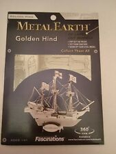 Metal Earth 3D Laser Cut Golden Hind Construction Kit