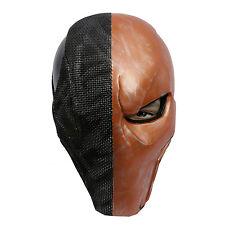 Deathstroke Mask Batman Arkham Origins Cosplay Costume Helmet Halloween Xcoser
