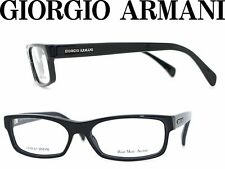 245052dd22 GIORGIO ARMANI GA866 D9M BLACK BOLD PLASTIC EYEGLASSES 54-16-140 ITALY NEW  RX