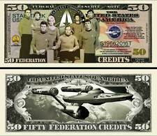50th Star Trek Anniversary Dollar Novelty Money
