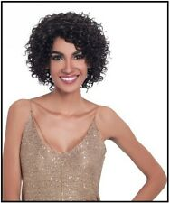Sleek Virgin Gold Short Curly 100% Virgin Human Hair Wig - DALVA