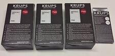 3x ORIGINAL KRUPS Entkalker +10 Reinigertabs.f. XP + EA