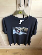 H&M women's Disney t shirt black with Minnie and Mickey