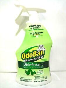 OdoBan Eliminates Odors Cleaner & Disinfectant, Original Eucalyptus Scent New