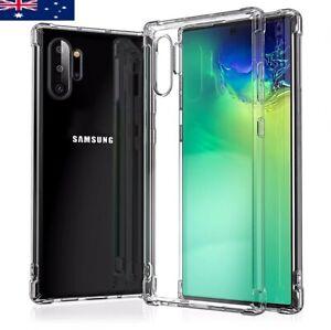 Soft Clear Bumper Case for Samsung Galaxy S9 S9 Plus S9+ Heavy Duty