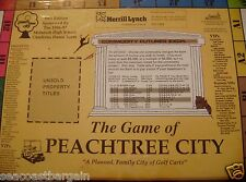Peachtree City Georgia Board Game Fayette County Landmarks Golf Carts Monopoly
