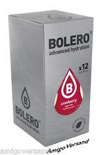 Bolero DRINKS - Cranberry - 12 Beutel Instant Getränkepulver für 18 Liter