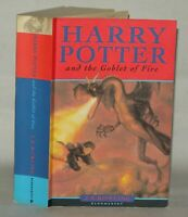 Harry Potter and the Goblet Of Fire - J.K Rowling PB, 2000 BloomsBury, 4-20 Line