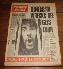 Melody Maker August Music, Dance & Theatre Magazines