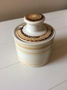 Iden Pottery Rye Sussex Mid-century Stoneware Preserve Pot Perfect H 9.5cm VGC