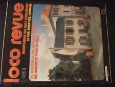 **fe Loco Revue n°415 immeubles modulaires / BB 63998 Roco en H0