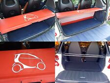 Smart ForTwo Parcel Shelf Cover and Supporting Rods for all 450 Models - Red