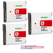 Kastar Replacement Battery for Sony NP-BG1 NP-FG1 Sony Cyber-shot DSC-H90 Camera