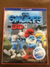 The Smurfs In 3D Blu-ray DVD Sony
