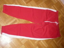 Divided Jogginghose Gr. L rot/weiss