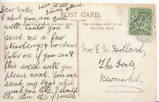 Genealogy Postcard - Family History - Holland - The Deals - Newmarket - BH1429
