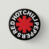 IMAN Nevera Chapa Button Pin Fridge Magnet , ROCK, RED HOT CHILI PEPPERS