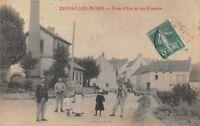 Epinac les mines - Prise d' eau et rue Franche