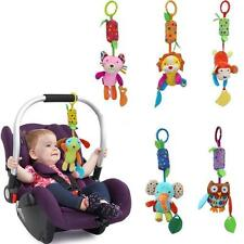 Baby Bed Hanging Wind Chimes Ringing Animals Hand Bell Stroller Pram Mobile Toys