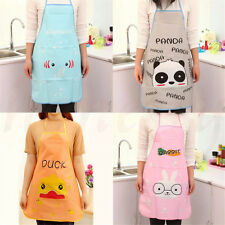 Cute Animal Images Restaurant Household Kitchen Waterproof Cooking Apron New