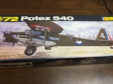 heller 1/72 395 potez 540 vintage model aircraft kit content sealed