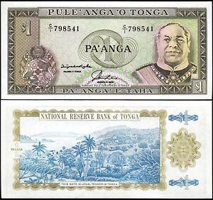 Tonga, 1 Paanga, 1992 - 1995, UNC, P-25, Prefix C/1