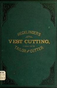 135 OLD TAILORING BOOKS ON USB- TAILOR SUIT GARMENT FITTING DESIGN SEWING MANUAL