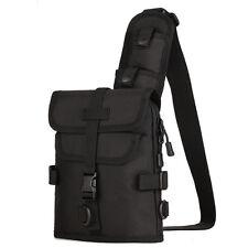 Men's Shoulder Crossbody Messenger Bag Waterproof 1000D Nylon Sling Chest Pack