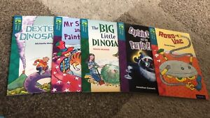 Treetop Fiction Collection - 15 Books. Book Band 12 Brown. Level 9,10,11