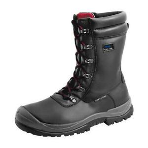 Mens Aboutblu Ranger Safety Work Boots With Side Zip, Toe Cap and Midsole Shoes