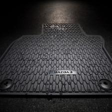 Velours blau Fußmatten passend für MAZDA 3 MAZDA3 MPS BK 2003-2009
