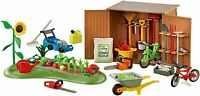 PLAYMOBIL 6558 Tool Shed with Garden - ADD ON SET