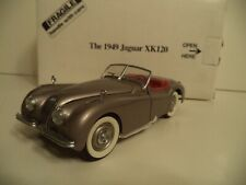 DANBURY MINT  JAGUAR XK120      1949  IN  BOX