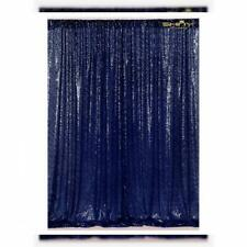 4FTX6FT-Navy Blue-Sequin Photo Backdrop, Wedding Booth,Photography...