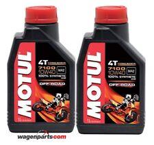 Aceite Motos Motul 4T 7100 10W40 Off Road MA2,  pack 2 litros