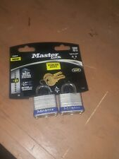 2-pack Master Lock Laminated Padlock Same Key