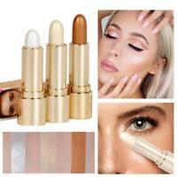 Brighten Highlighter Cosmetic Face Contour Bronzer Shimmer Highlighter Stick