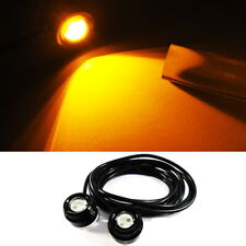 2x High Power Eagle Eye LED For MB Mercedes Under Car DRL Fog Signal Light Amber