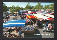 NANTES (44) MARCHAND de CHAUSSURES au Marché ZOLA animé en 1996