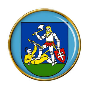 Nitra Region (Slovakia) Pin Badge