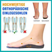 1 Paar orthopädische Einlegesohle Silikongelbogenstütze für die Ausrichtung
