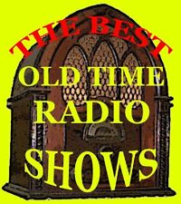 THE BIG SHOW 29 SHOWS MP3 CD OLD TIME RADIO MUSIC