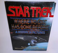BOOK Star Trek Where No One has Gone Before by Dillard/Shatner op 1994 1st Ed